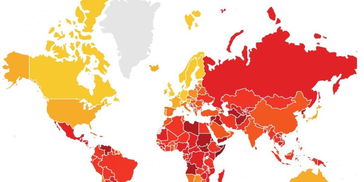 Reporte: no hay progreso en la erradicación de la corrupción