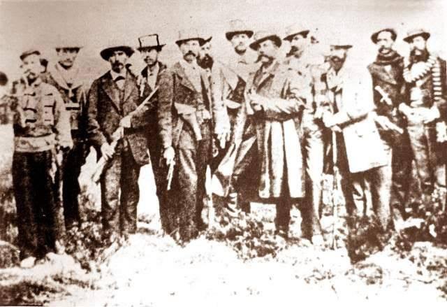 Defensores bolivianos de Calama
