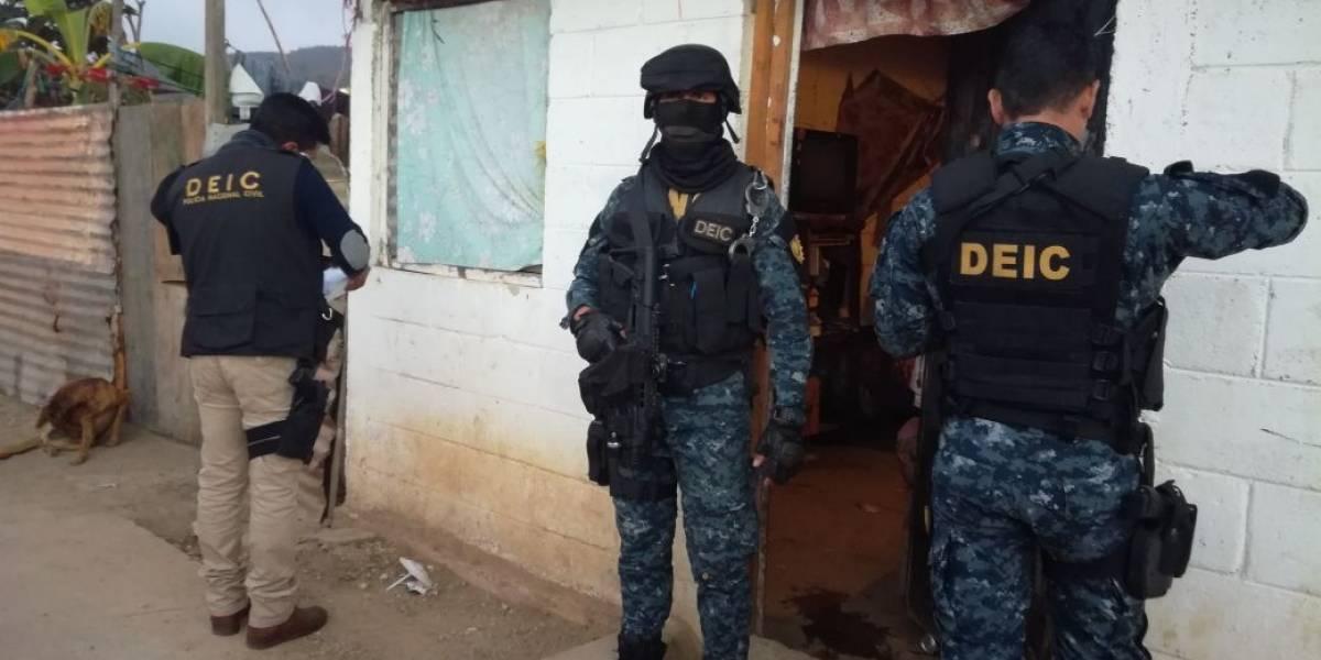 MP y PNC realizan allanamientos contra extorsión en tres municipios