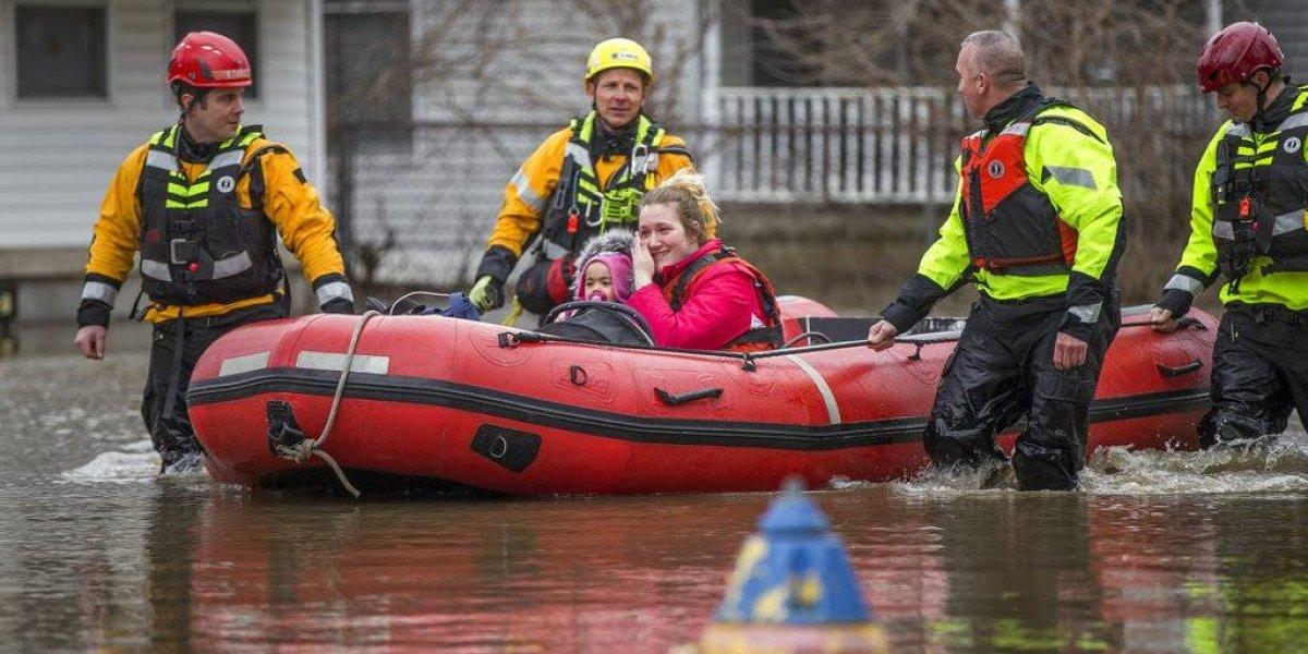 Inundaciones azotan centro y sur de EE. UU.