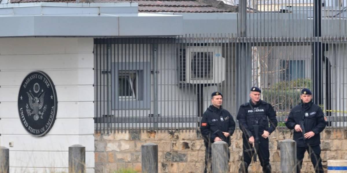 Atacan con granada la embajada estadounidense en Montenegro