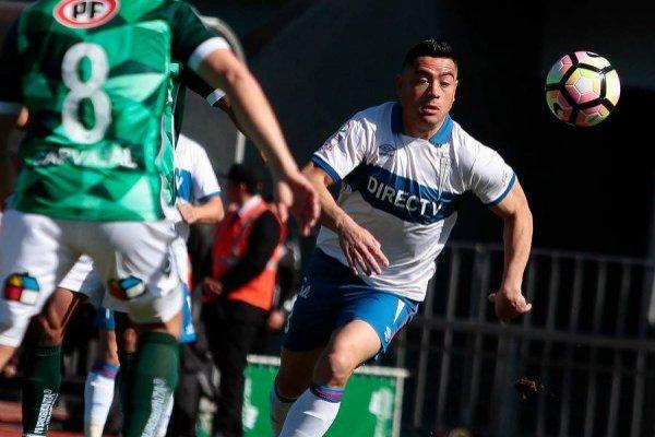 Diego Vallejos tiene contrato con la UC hasta diciembre de 2020 / Foto: Agencia UNO