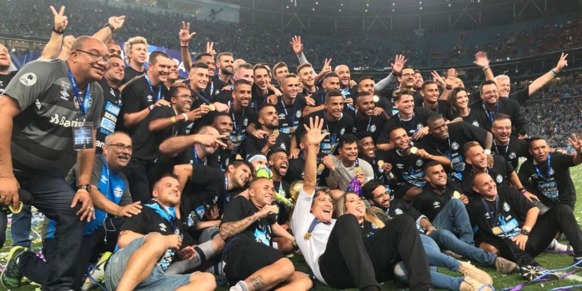 Gremio levanta por segunda vez en su historia la Recopa Sudamericana 2018
