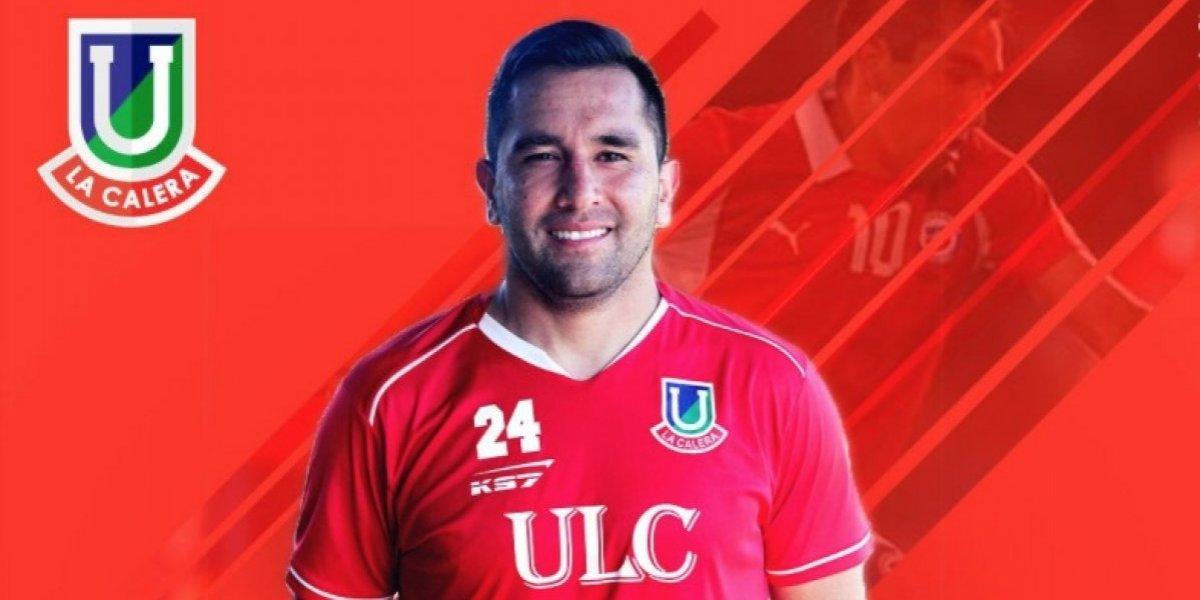 Unión La Calera anunció el fichaje del volante Fernando Meneses