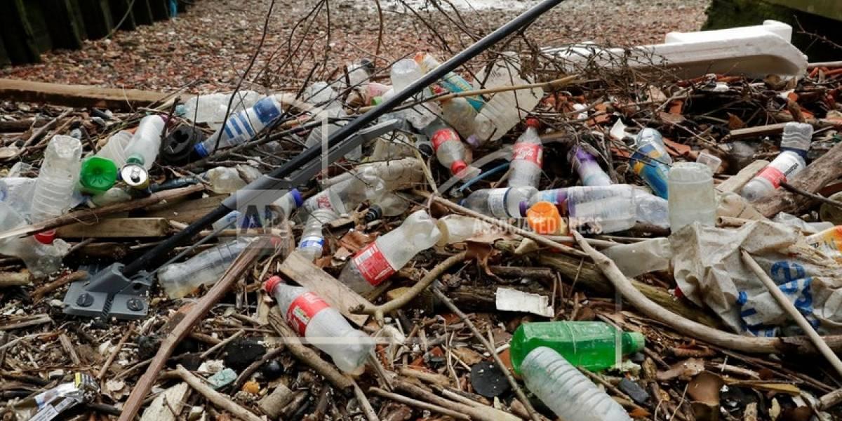 Grandes empresas hablan ahora de limpiar el mar de plásticos