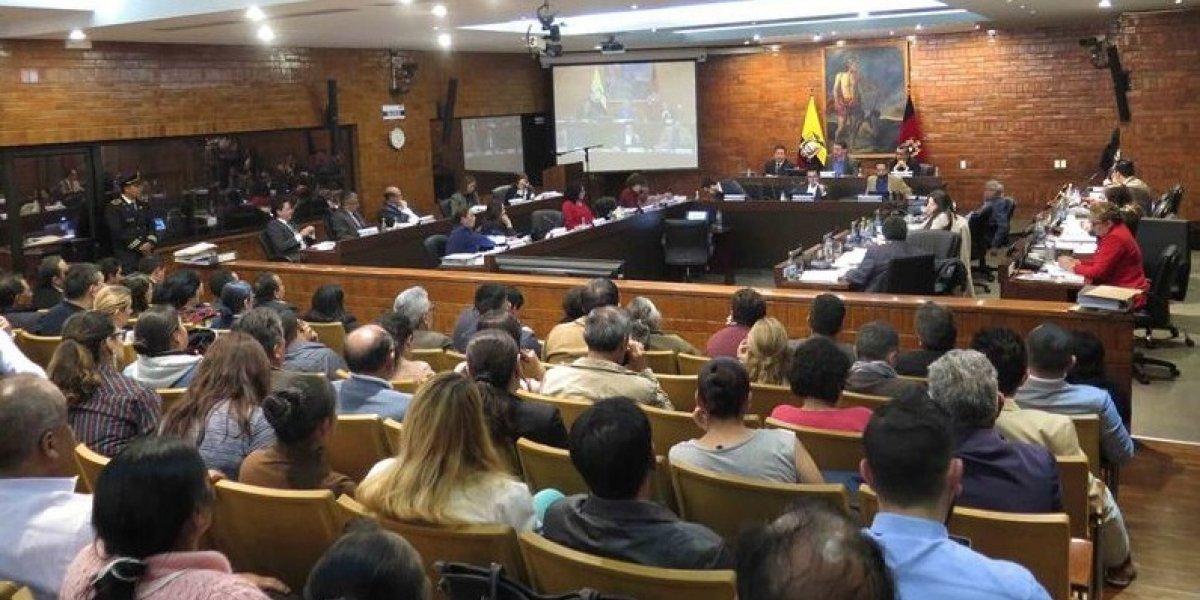 Sesión del Concejo de Quito termina irregularmente después de un incidente