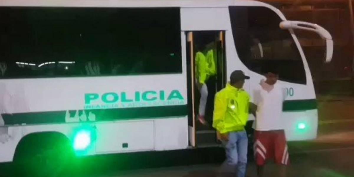 Video: Estos son los dos capturados por la muerte de un estudiante del Inem en Bogotá