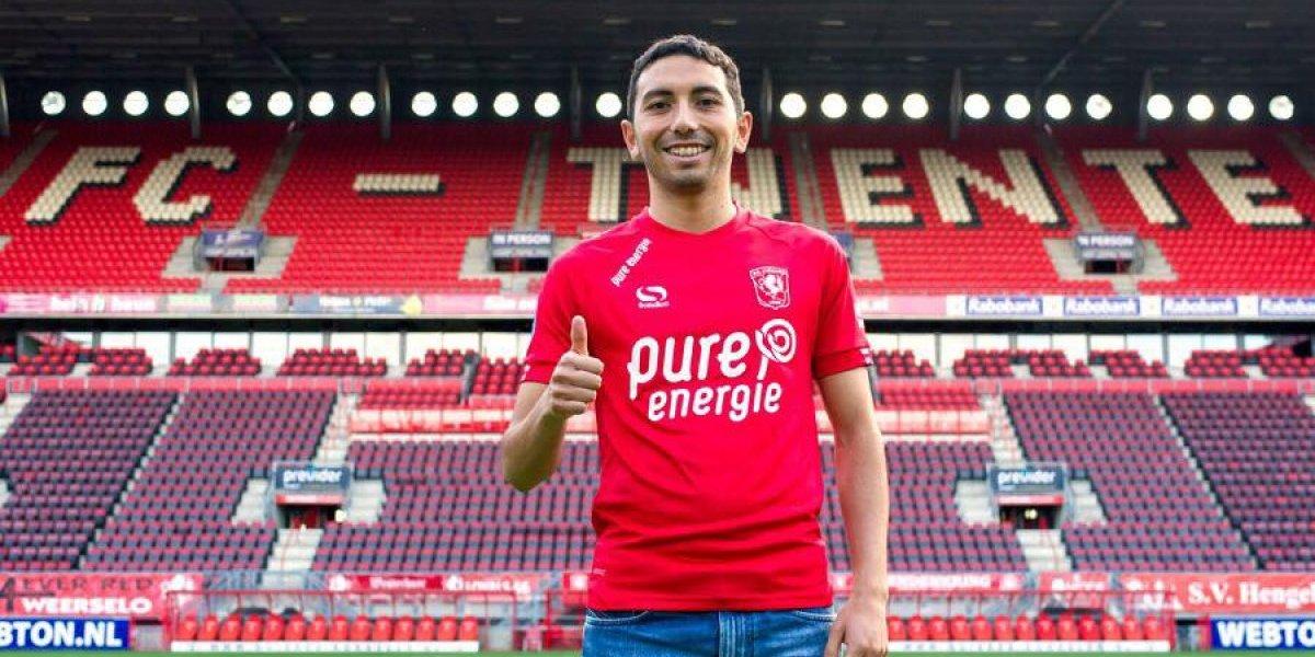 """El Cimbi Cuevas hace patria en Holanda: """"Estoy en mi mejor momento y espero que eso me ayude a llegar a la Selección"""""""