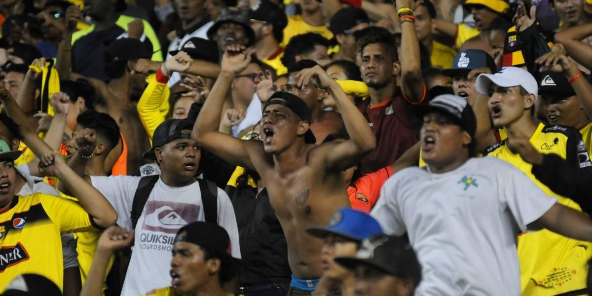 Hinchas de Barcelona SC frustran un asalto en Guayaquil