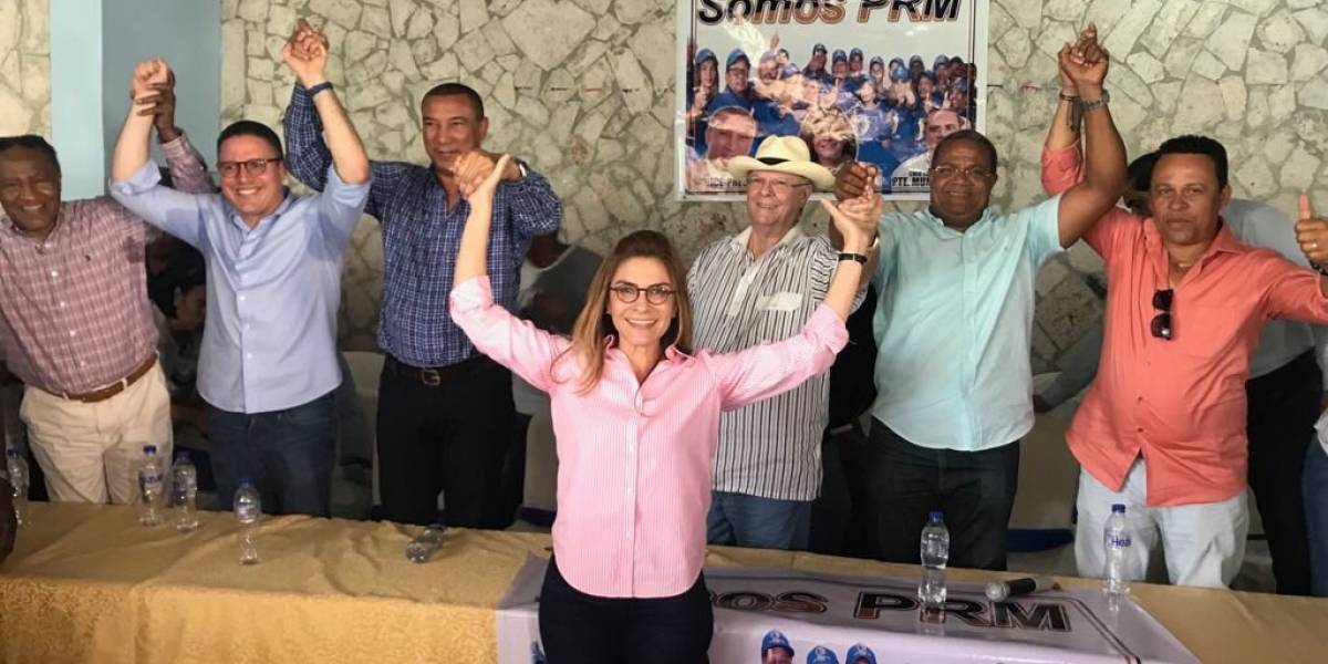 Carolina Mejía afirma que en unidad de la dirigencia descansa el futuro del PRM