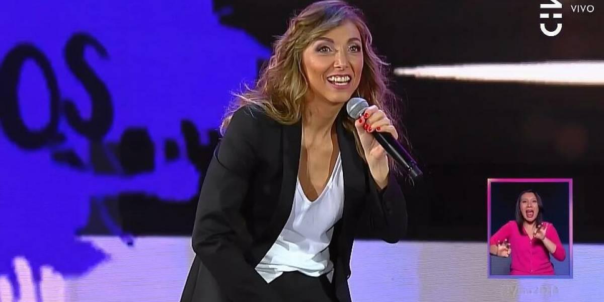 Viña 2018: Jenny Cavallo es aplaudida y criticada por su rutina enfocada en la cotidianidad de las mujeres