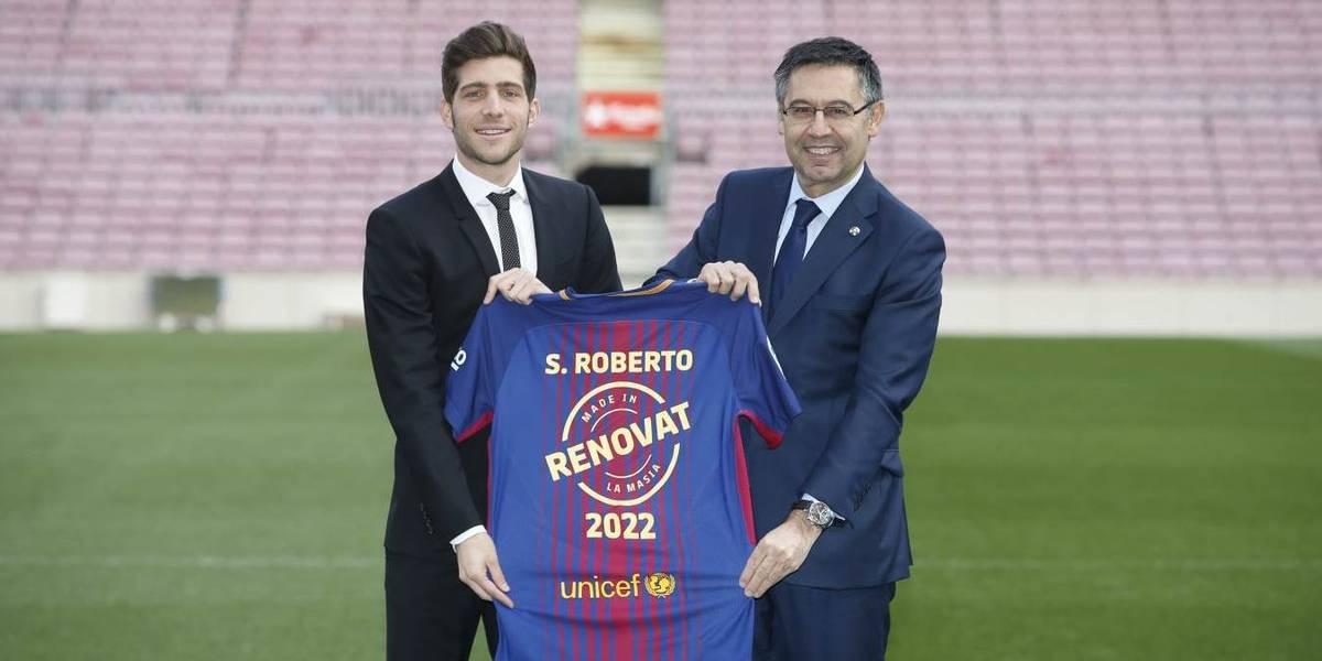"""Sergi Roberto: """"El Barça está en la mejor situación posible"""""""