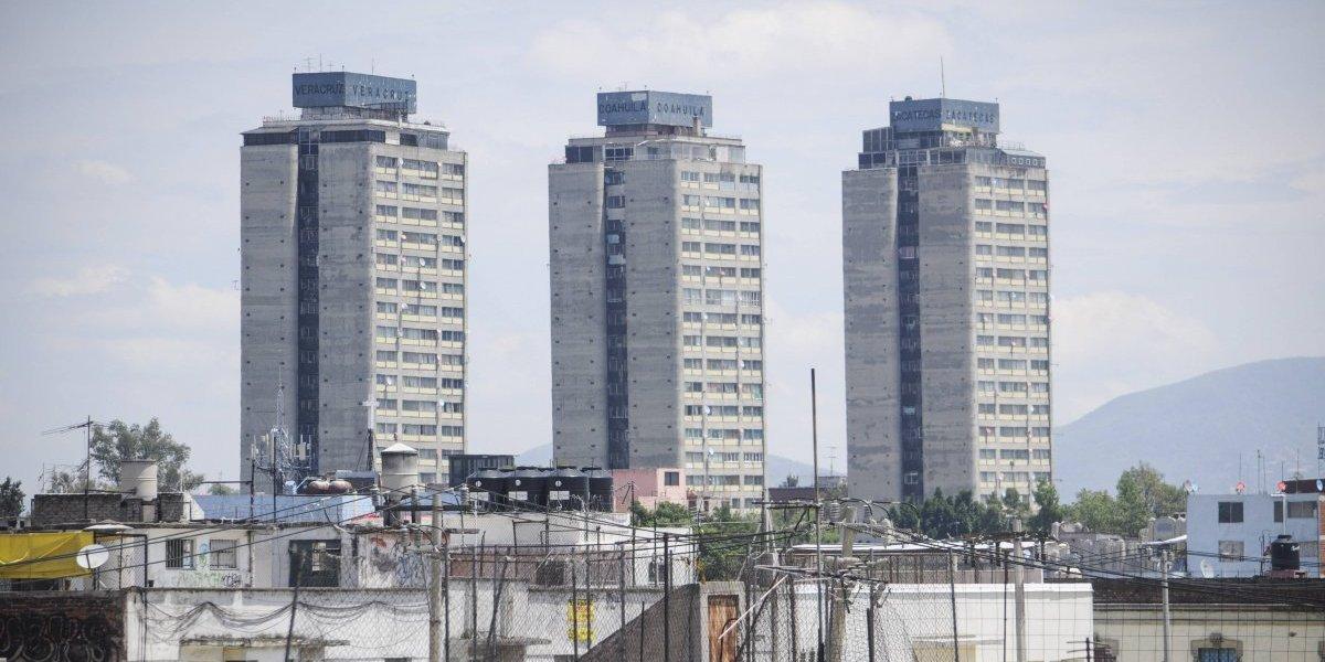 Cae 15 pisos elevador de edificio en Tlatelolco