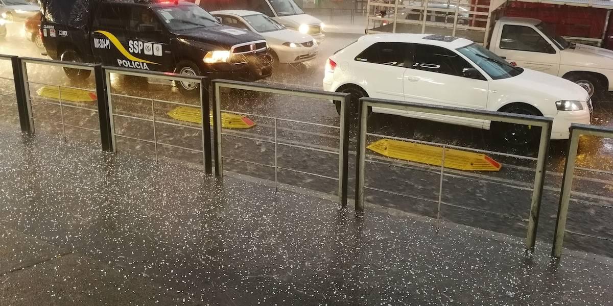 Se registra lluvia en cuatro delegaciones