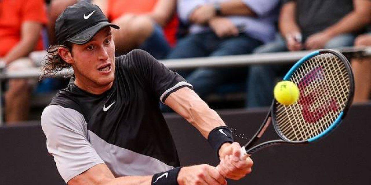 Nicolás Jarry tendrá otro duro rival en el ATP de Rio de Janeiro