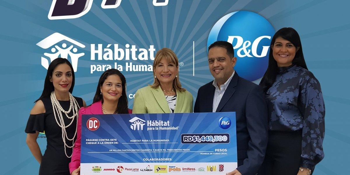 Procter & Gamble se une a la labor de Hábitat para la Humanidad