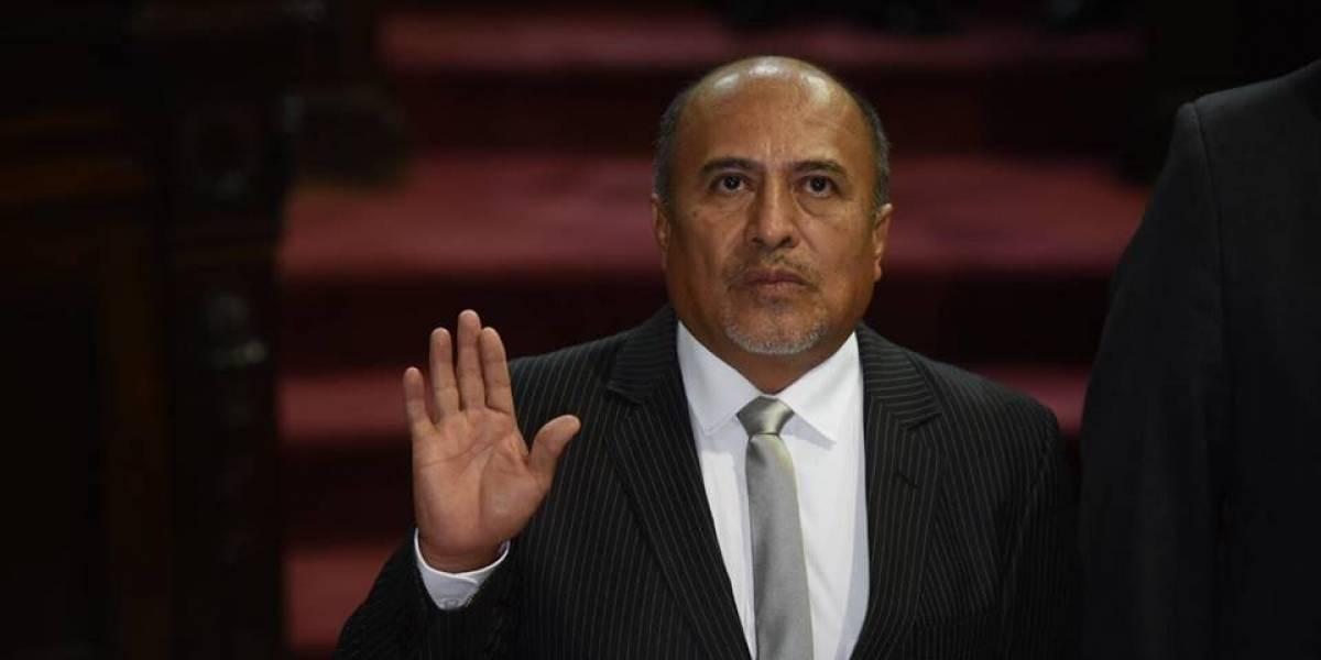 Leonel Sosa asume como diputado en sustitución de Julio Juárez