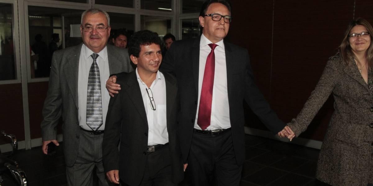 Cléver Jiménez y Fernando Villavicencio son declarados inocentes
