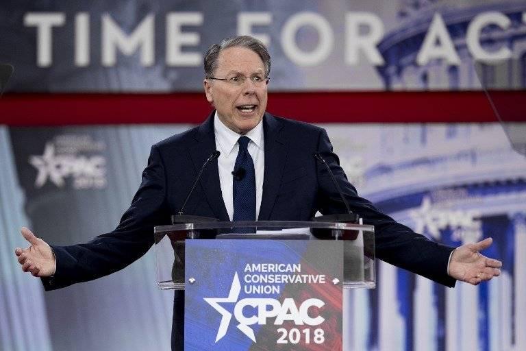 Wayne LaPierre, líder de la NRA