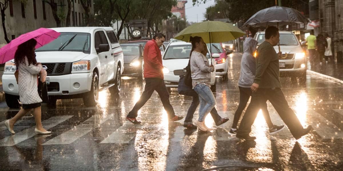 Se esperan lluvias de diferente intensidad en regiones de 19 estados