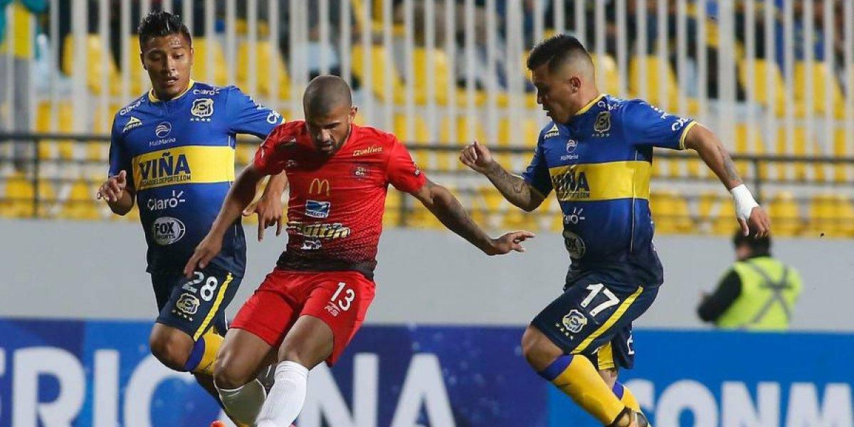 Asi vivimos la dolorosa derrota de Everton ante Caracas por la Copa Sudamericana