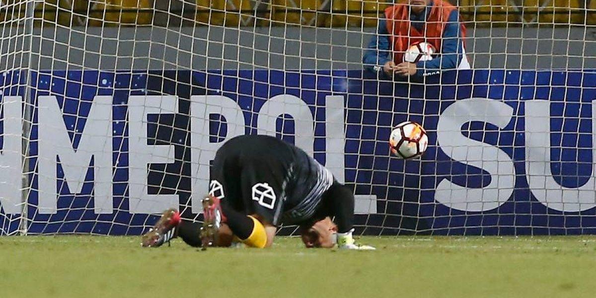 Everton volvió a pagar caro un error de Lobos y terminó perdiendo en su debut en la Sudamericana