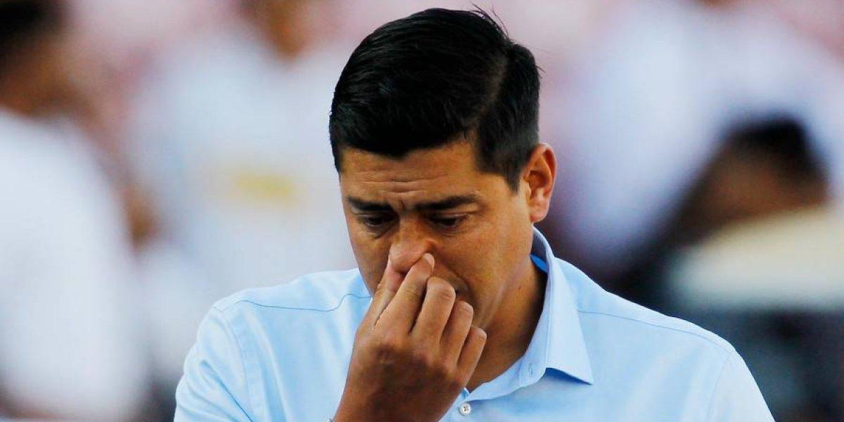 """Presión para Córdova en Wanderers: """"Hay que revisar el tema de su continuidad en los próximos dos partidos"""""""