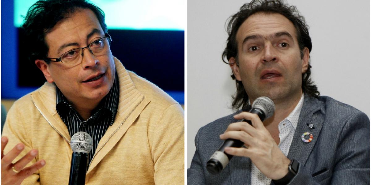 La pelea de Gustavo Petro con el alcalde de Medellín