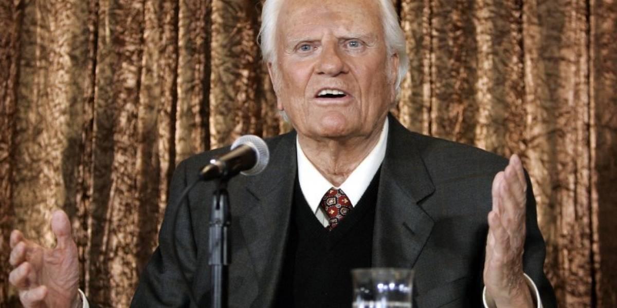 Los restos del pastor Billy Graham serán honrados en el Capitolio