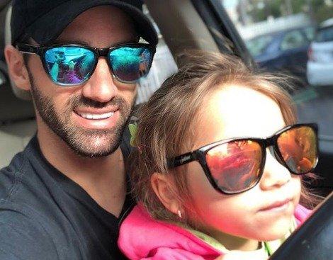 Toni Costa y Alaïa. vía Instagram