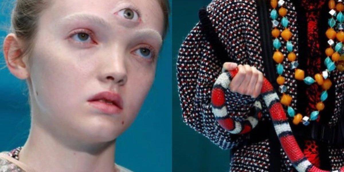 Cabeças decapitadas, três olhos e dragões: o desfile de moda que causou polêmica na Itália
