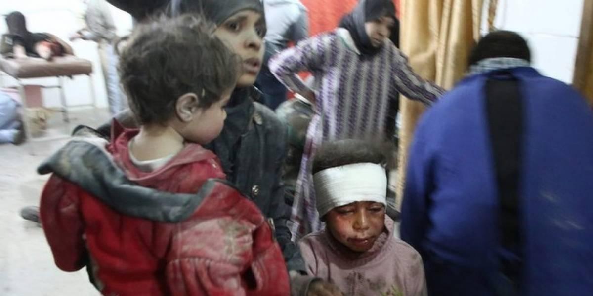 Civis lutam para sobreviver em meio a bombardeios intensos na Síria