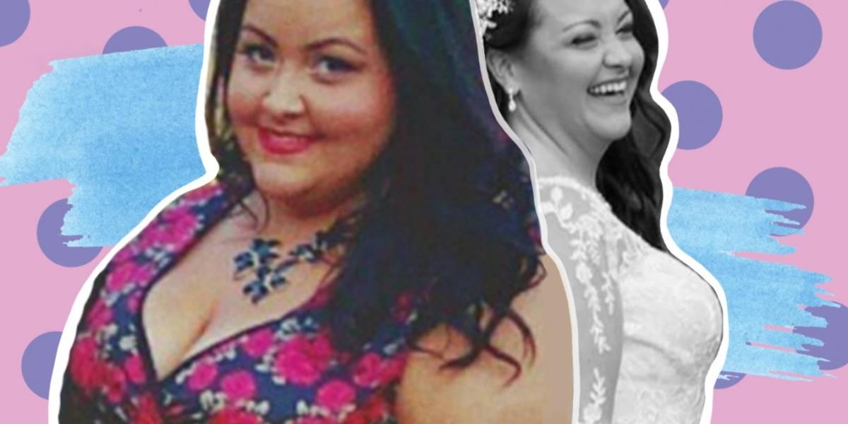 Novia pierde 113 libras antes de su boda ¡y hoy luce mejor que nunca!