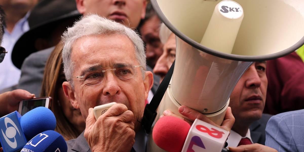 Ataques a Álvaro Uribe en Popayán se presentaron en plena campaña