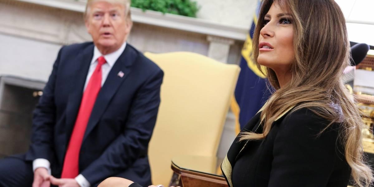 Mujer se estrelló adrede contra una barrera de la Casa Blanca
