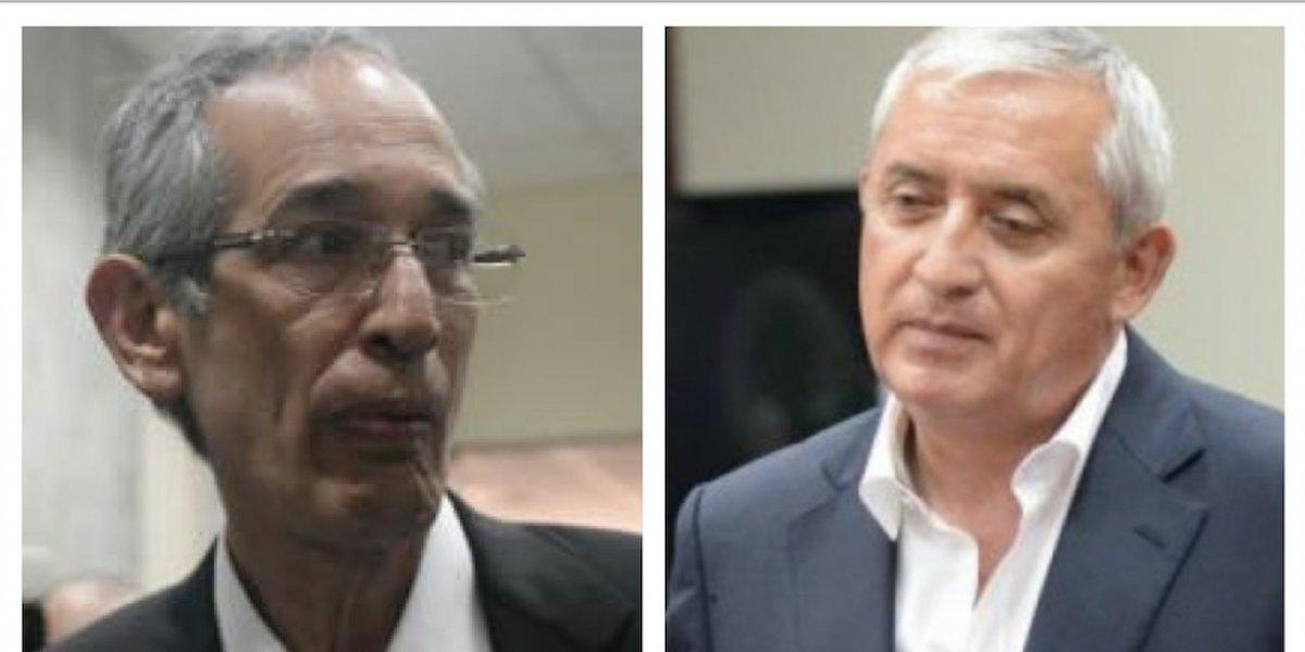 Expresidente Colom revela cómo vive en la prisión con Pérez Molina