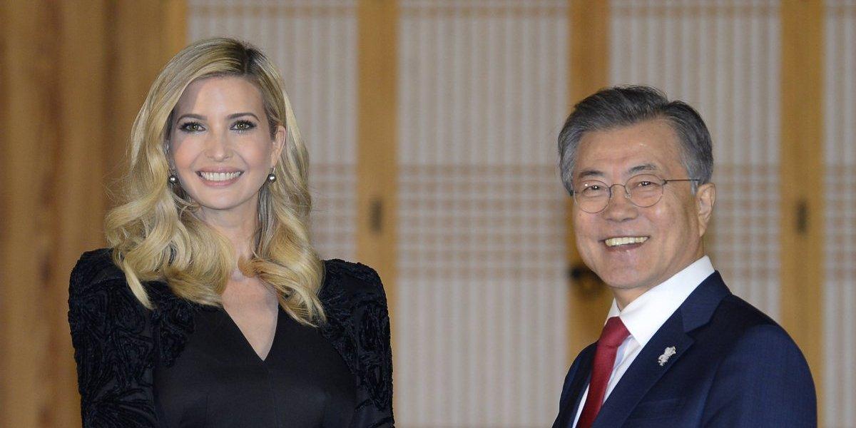 Ivanka Trump llega a Corea del Sur para clausura de los Juegos Olímpicos