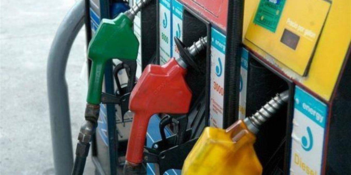 Las gasolinas mantendrán precios y el GLP bajará 1 peso