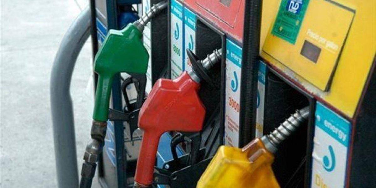 Gasolinas y gas natural conservan precios; otros combustibles suben entre 1 y 3 pesos