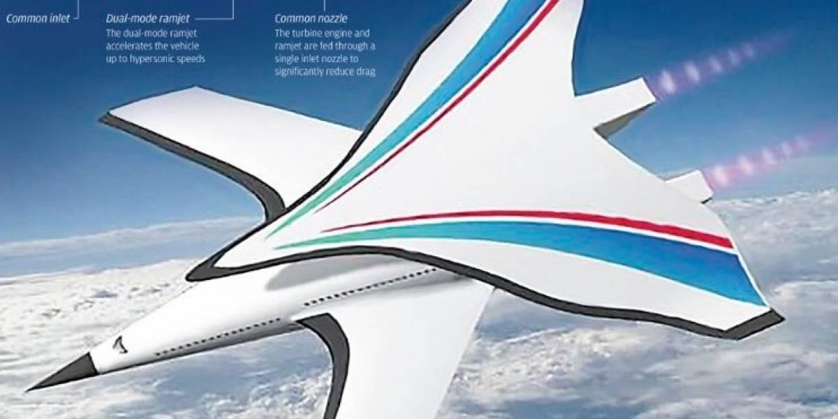 China diseña avión hipersónico que uniría Beijing y Nueva York en sólo dos horas