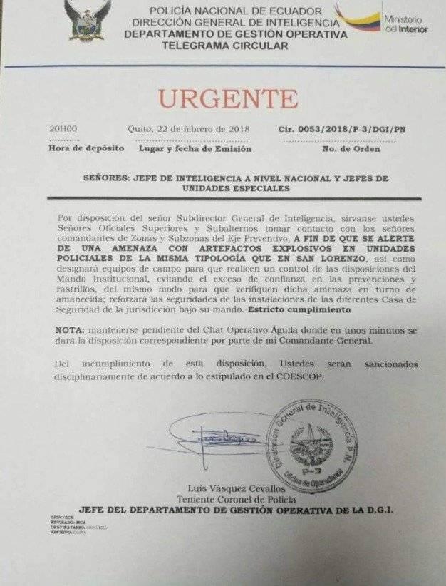 Un fallecido tras explosión de vehículo en Colta, Chimborazo