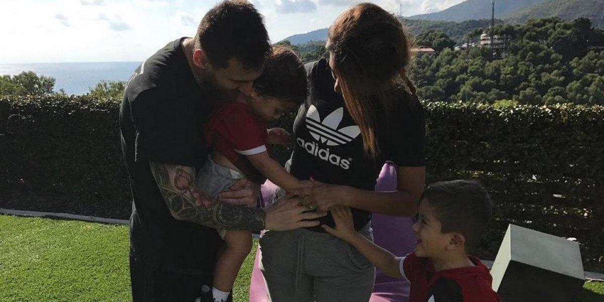 Descubren por qué Lionel Messi llamará Ciro a su tercer hijo