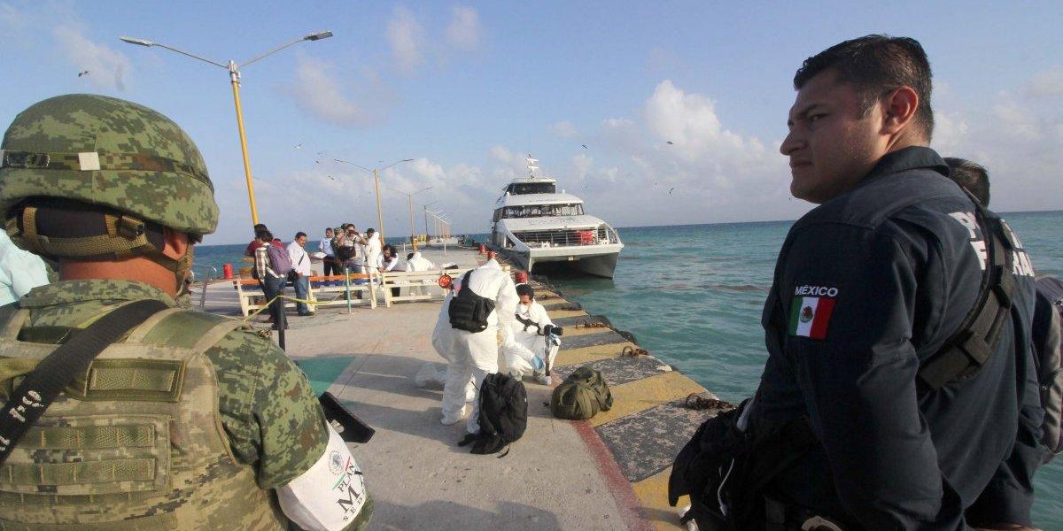 Especialistas del FBI se incorporan a investigaciones de explosión en muelle de Playa del Carmen