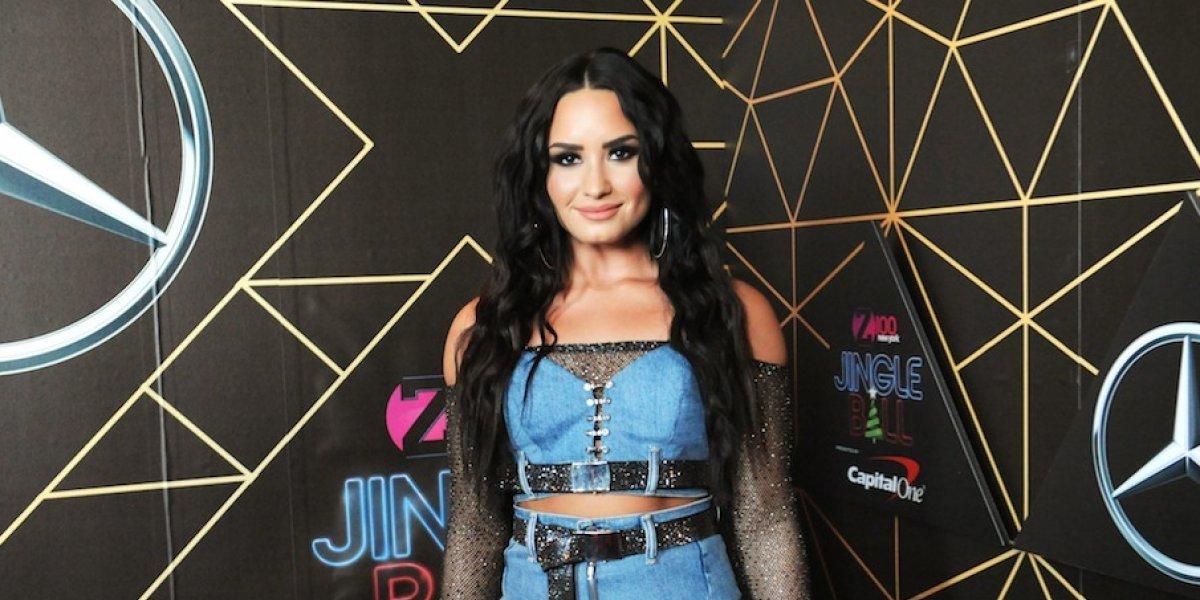 Demi Lovato vuelve a presumir sus atributos en lencería y con pronunciados escotes