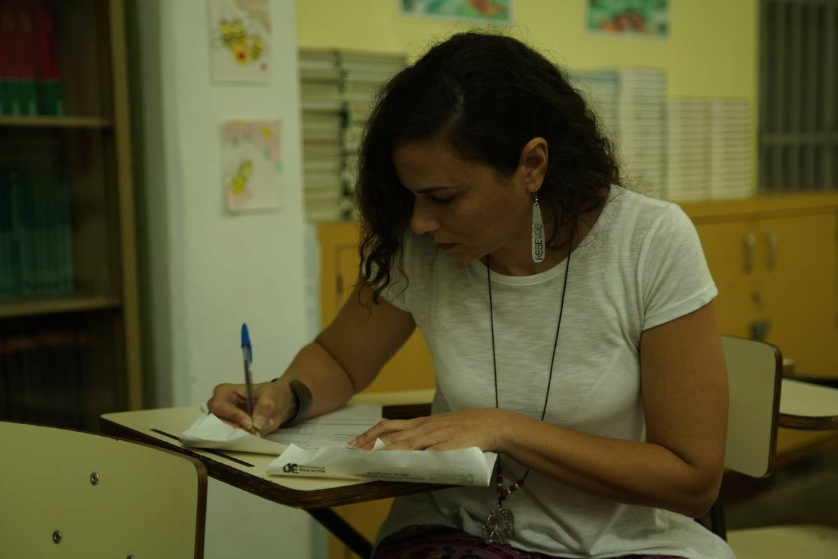Maestra de Español Jessika Reyes Serrano / Foto Gil Reymundi