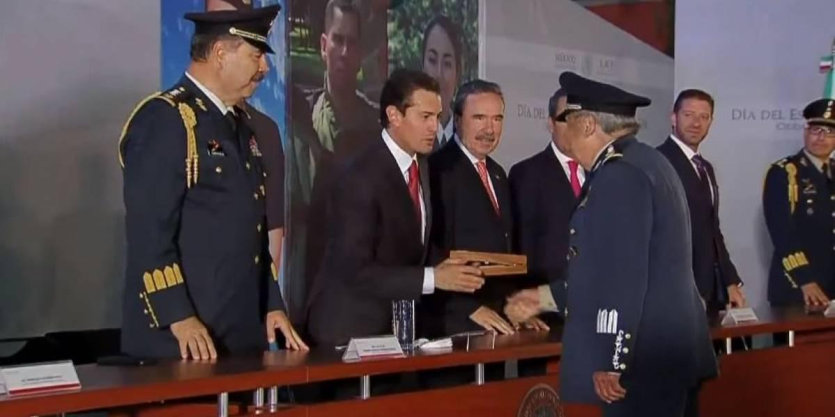 Peña Nieto agradece el compromiso del Estado Mayor Presidencial durante su sexenio