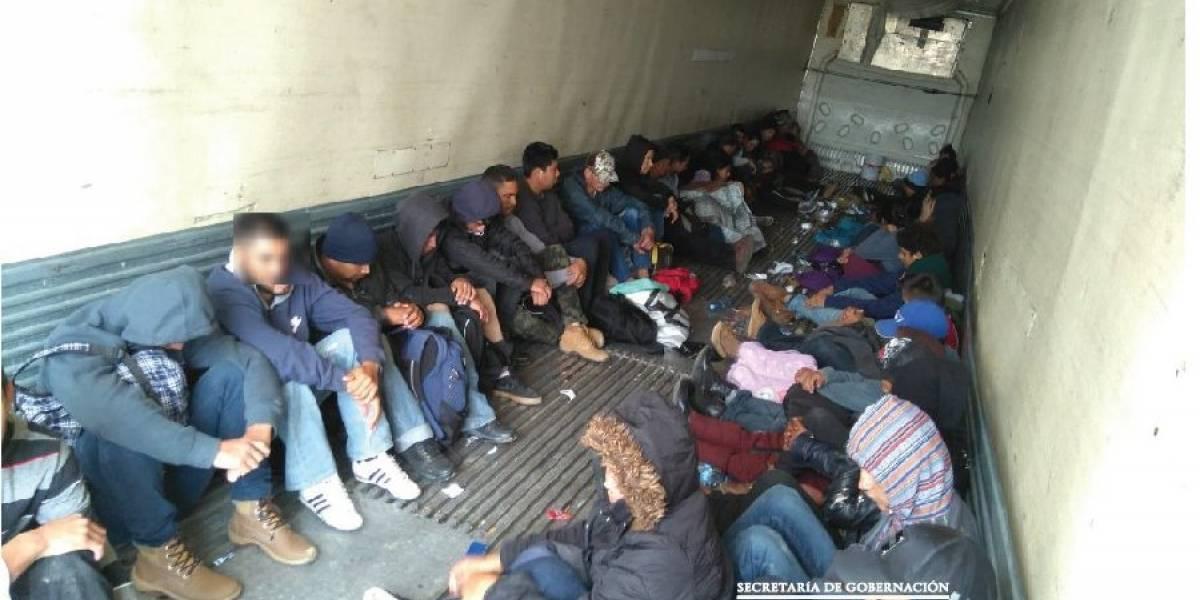 México rescata a 103 migrantes abandonados en Tamaulipas