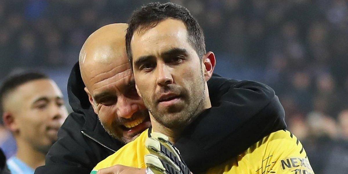Pep Guardiola no escucha a los hinchas y volvió a confirmar a Bravo para la final de la Copa de la Liga Inglesa