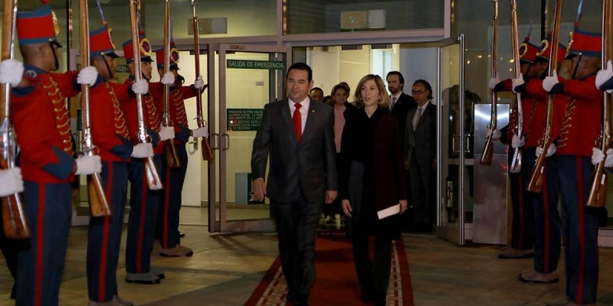 Presidente Morales se reúne con su homólogo Juan Manuel Santos