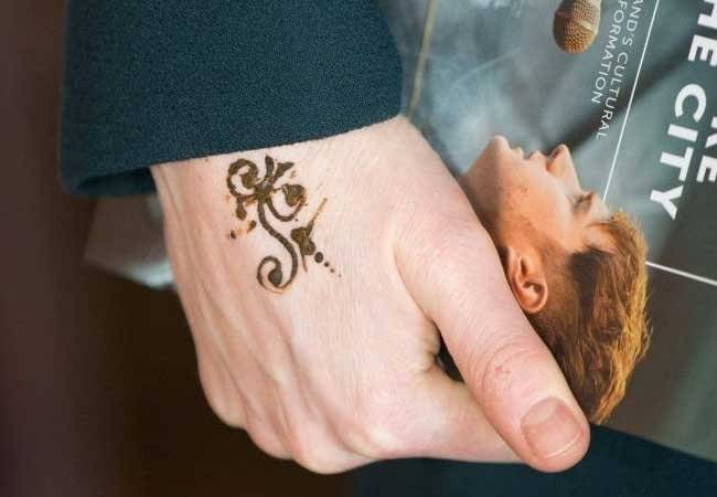 Kate Middleton Henna